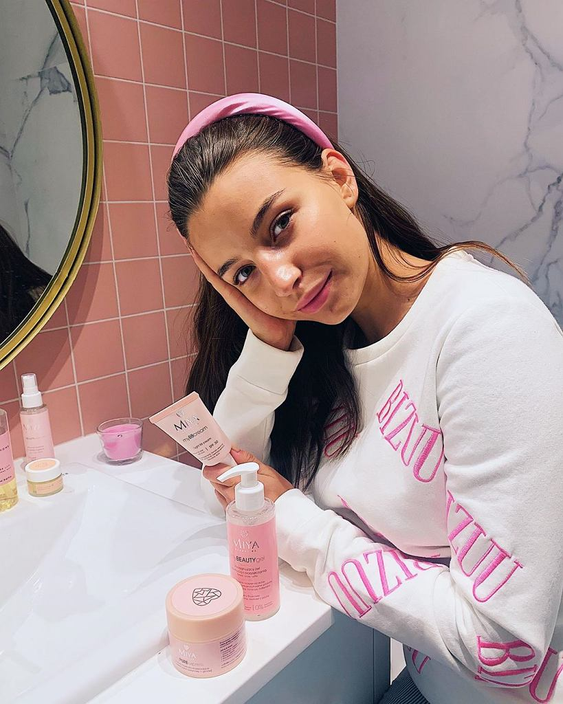Julia Wieniawa makijaż