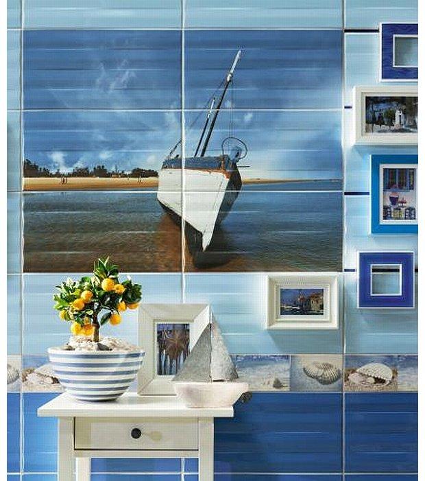 Płytki łazienkowe Jak Obrazy Sposób Na Oryginalną łazienkę