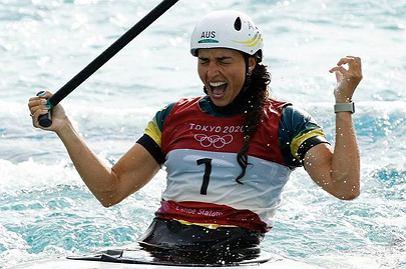 Jessica Fox, brązowa medalistka igrzysk olimpijskich w Tokio w slalomie K-1. Źródło: Instagram