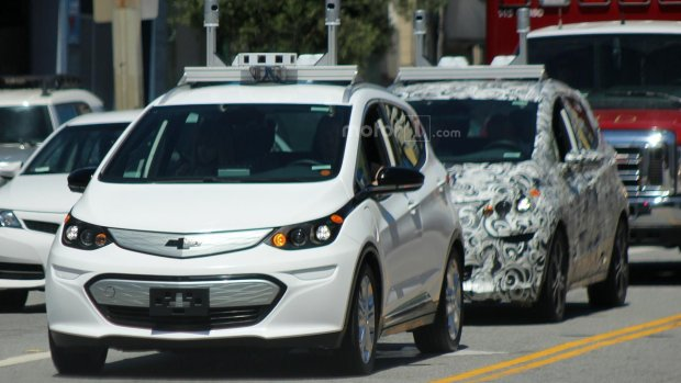 Prototyp autonomicznego Chevrolet Bolta
