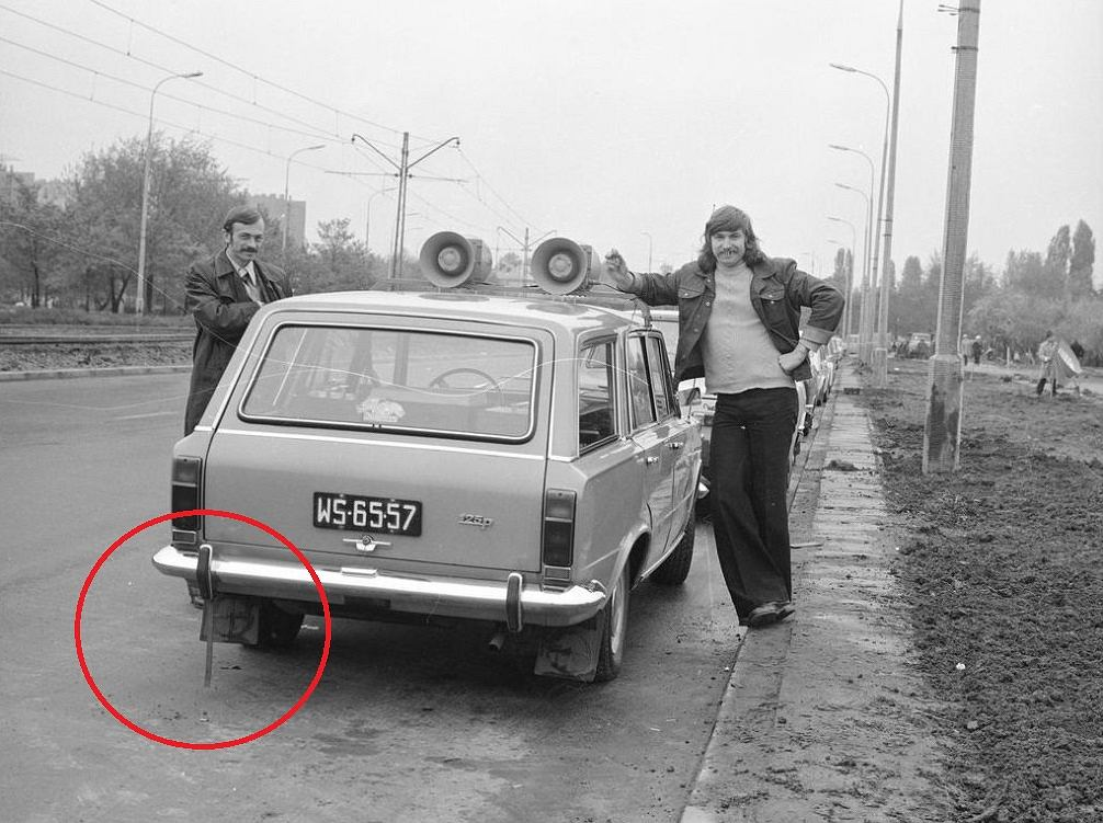 Paski antystatyczne miały kiedyś wszystkie auta