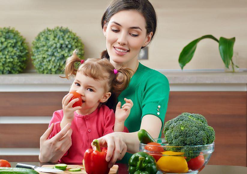 Warzywa i owoce to podstawa zdrowej diety dziecka