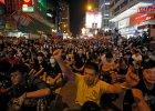 Mieszkańcy Hongkongu chcą demokracji