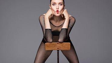 Angelina Jolie w szczerym wywiadzie i nagiej sesji dla Harper's Bazaar