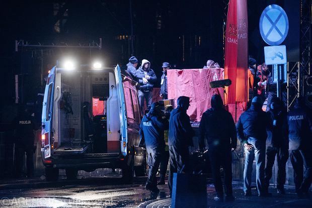 Nieoficjalnie  Prezydent Gdańska został zaatakowany 15-centymetrowym nożem  wojskowym 5ce9487e23a