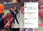 """Marina Łuczenko z synem na meczu. Zdjęcia pokazał też Wojtek Szczęsny. """"Z najlepszym wsparciem"""""""