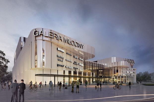Galeria Młociny - otwarcie zaplanowano na wiosnę 2019 roku