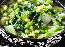 Zielona zupa minestrone - ugotuj