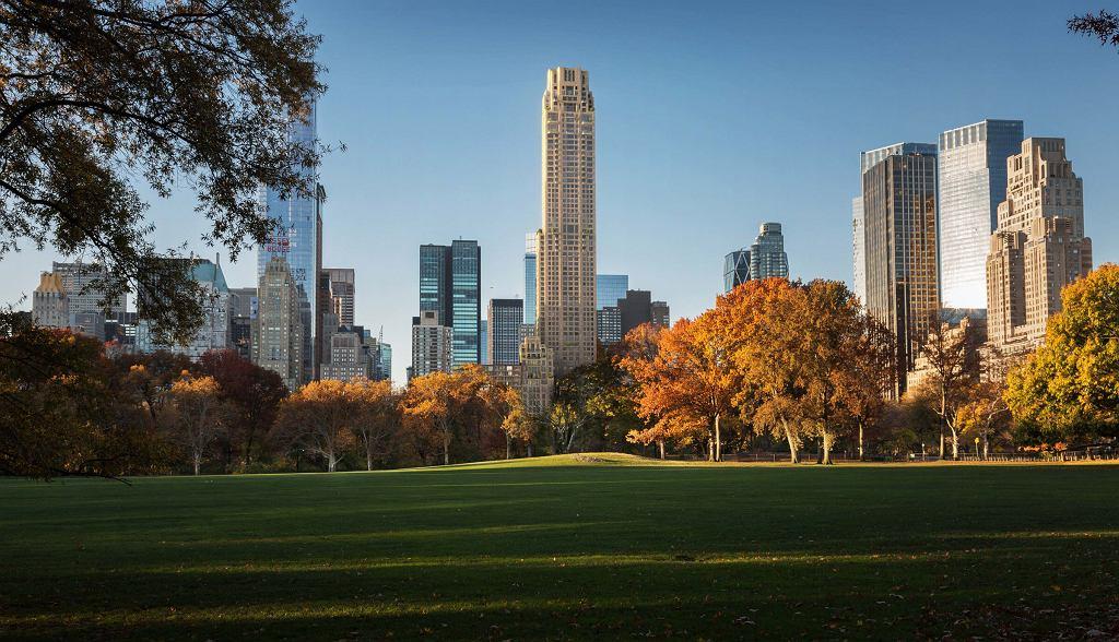 Z apartamentu sprzedanego za 238 mln dolarów rozciąga się widok na słynny Central Park