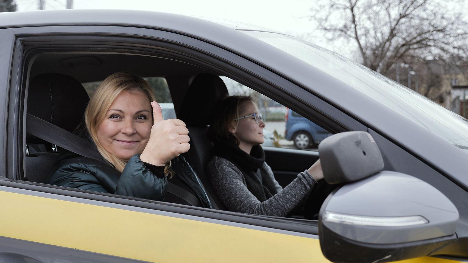 Kasia Kowalczyk, instruktorka jazdy, właścicielka Babskiej Autoszkoły w Warszawie