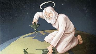 Bóg bawi się w wojnę?