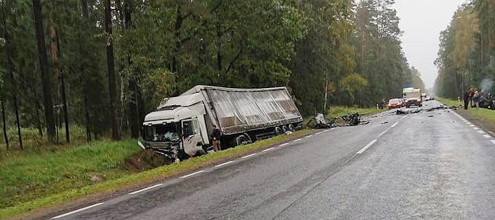 Tragiczny wypadek na Podlasiu. Nie żyją cztery osoby, w tym troje dzieci