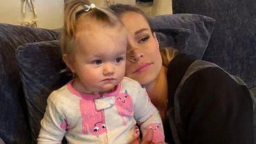 Joanna Krupa z córką