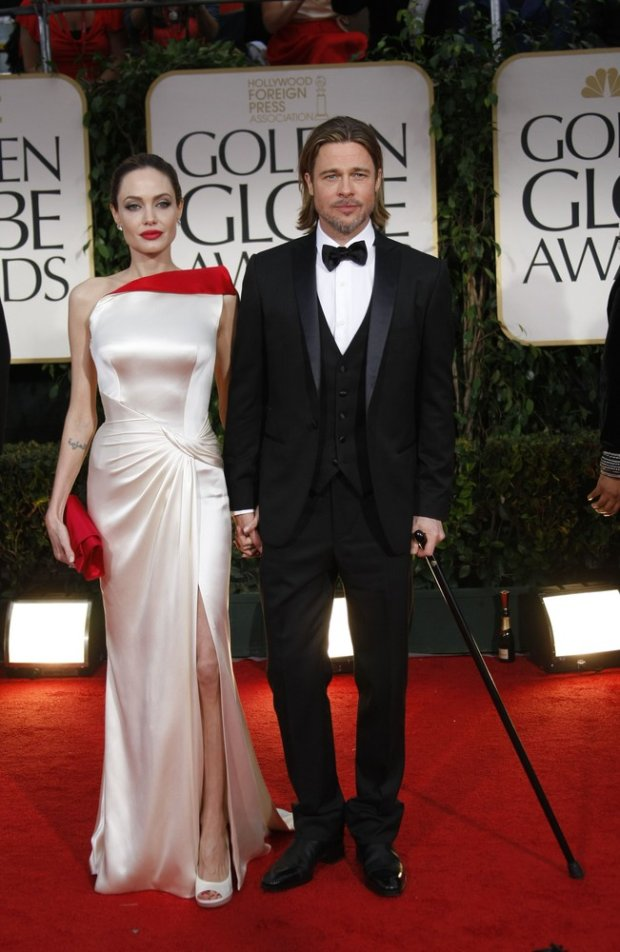 Brad Pitt, Angelina Jolie, 2012