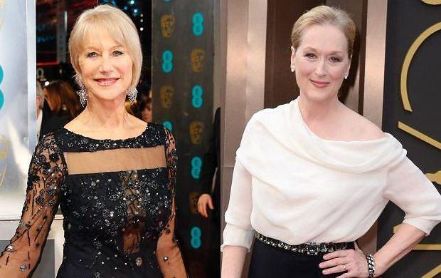 Helen Mirren, Meryl Streep