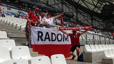 Radomianie dopingowali Polaków podczas meczu w Marsylii