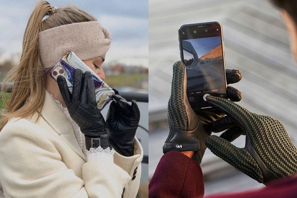 rękawiczki na zimę do telefonu
