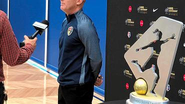 Trener Paul Riley w 2018 r.