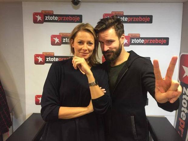 Odeta Moro z Piotrem Stramowskim w 'Morowym Weekendzie'