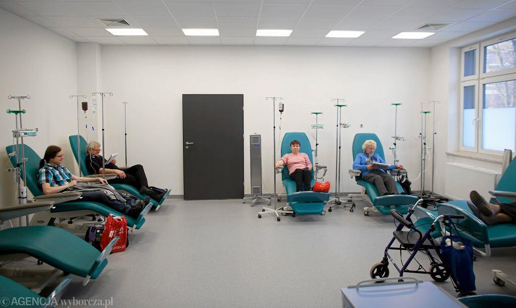 Oddział hematologii szpitala w Chorzowie