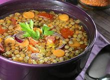 Zupa z brązowej soczewicy - ugotuj