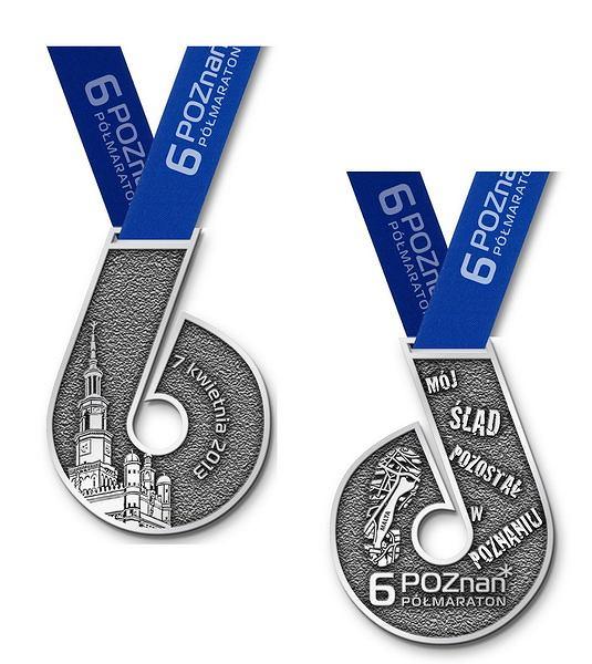 6. Poznań Półmaraton - medal