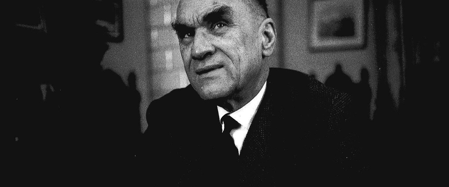 Jarosław Iwaszkiewicz, 1963 rok (fot. Tadeusz Rolke / Agencja Gazeta)