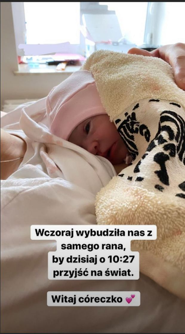 Sylwia Przybysz urodziła córkę