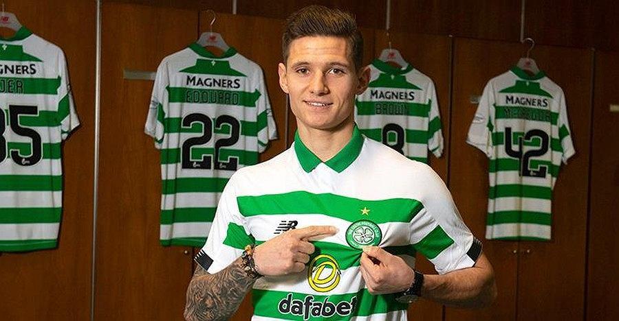 Patryk Klimala w Celticu Glasgow