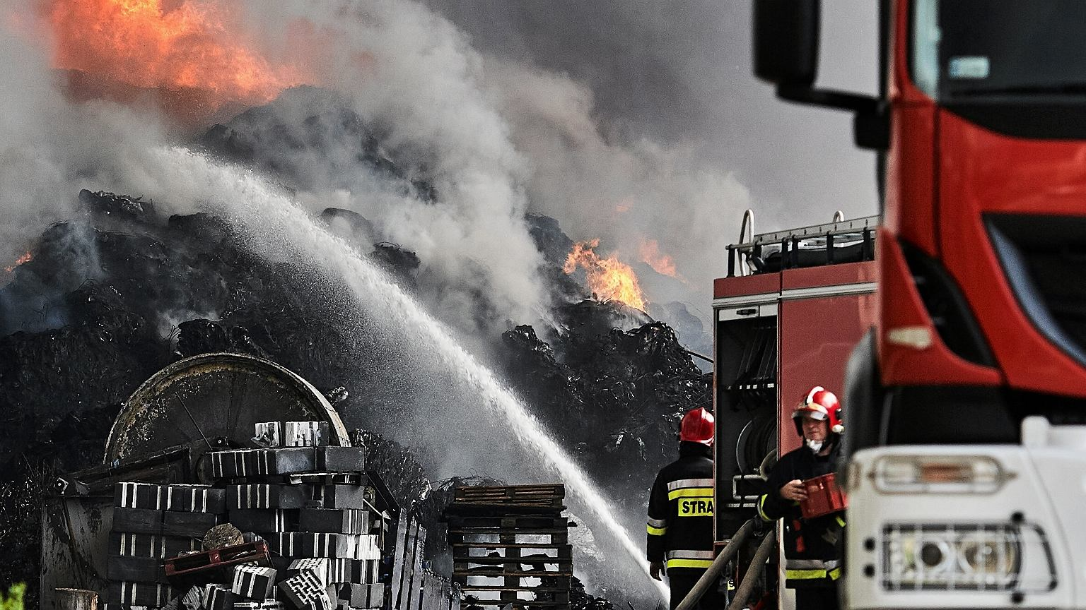 Ostatnie tygodnie to prawdziwa plaga pożarów wysypisk śmieci w Polsce