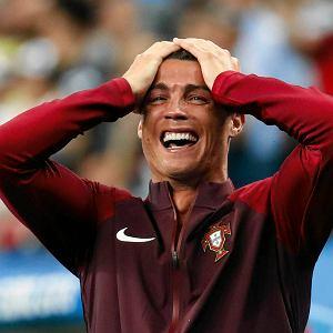 Cristiano Ronaldo cieszy się po golu
