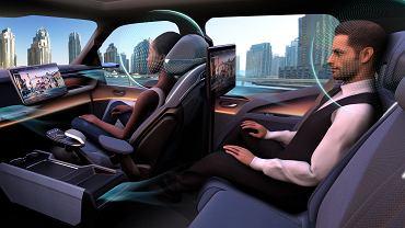 Kokpit przyszłości według projektu Faurecii