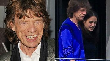 Mick Jagger z Melanie Hamrick