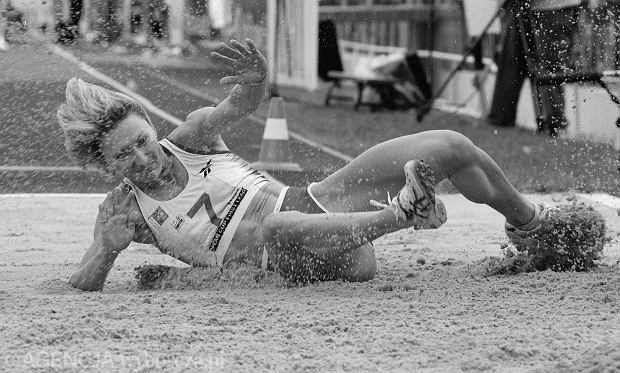 Agata Karczmarek podczas zawodów w Bydgoszczy
