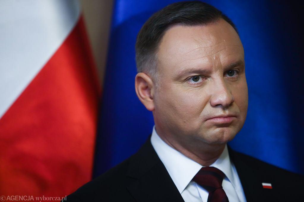 Wybory prezydenckie 2020. Andrzej Duda