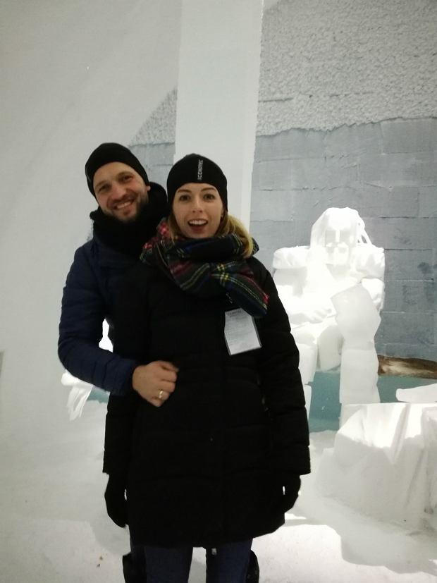 Piotr z żoną Marią (fot: archiwum prywatne)