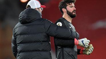 Juergen Klopp sur les erreurs d'Alisson contre Manchester City