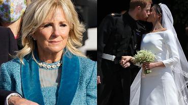 Jill Biden, książę Harry, Meghan Markle
