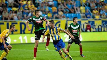 Arka Gdynia wygrała z GKS Tychy 3:0
