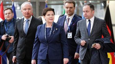 Premier Beata Szydło w Brukseli