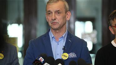 Konferencja Sławomira Broniarza w ZNP