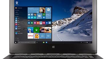 Urządzenie 2-w-1 z systemem Windows 10