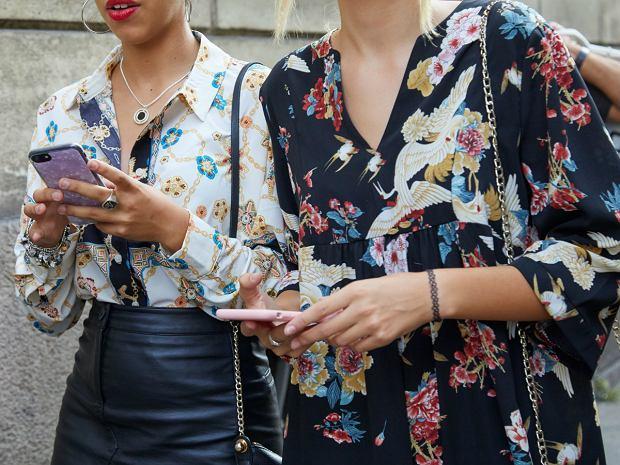 Wzorzyste koszule damskie
