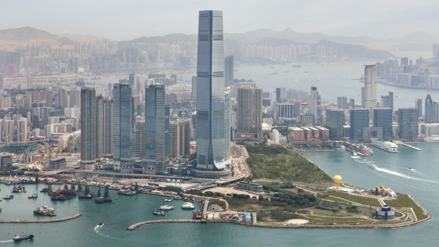 Hotel Ritz-Carlton w Hongkongu