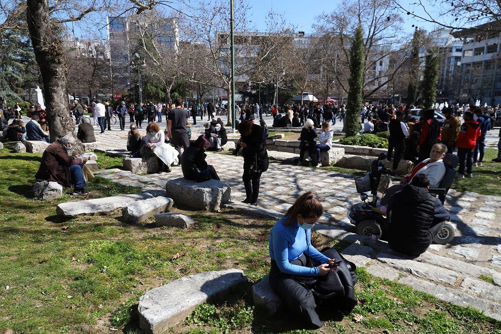 Trzęsienie ziemi w Grecji. Mieszkańcy Larisy wyszli na ulice