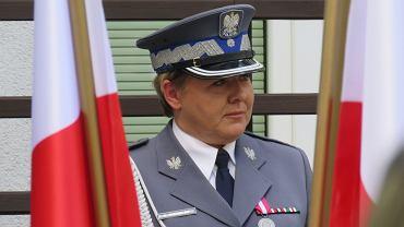 Minister Joachim Brudziński w Gorzowie, 24 lipca 2018 r. Nominację na komendanta lubuskiej policji odebrała gen. Helena Michalak