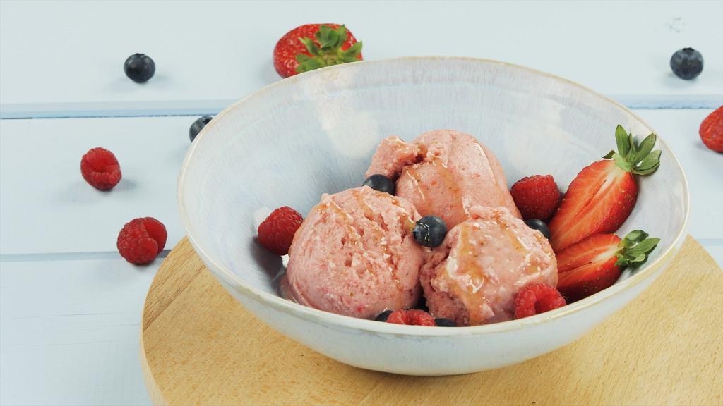 Lody jogurtowo-owocowe FIT