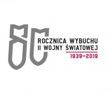 Praca Konrada Fuśniaka, która wygrała w konkursie na logo obchodów rocznicy wybuchu II wojny światowej