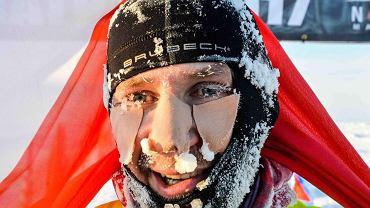 Piotr Suchenia, pierwszy polski zwycięzca maratonu na biegunie północnym
