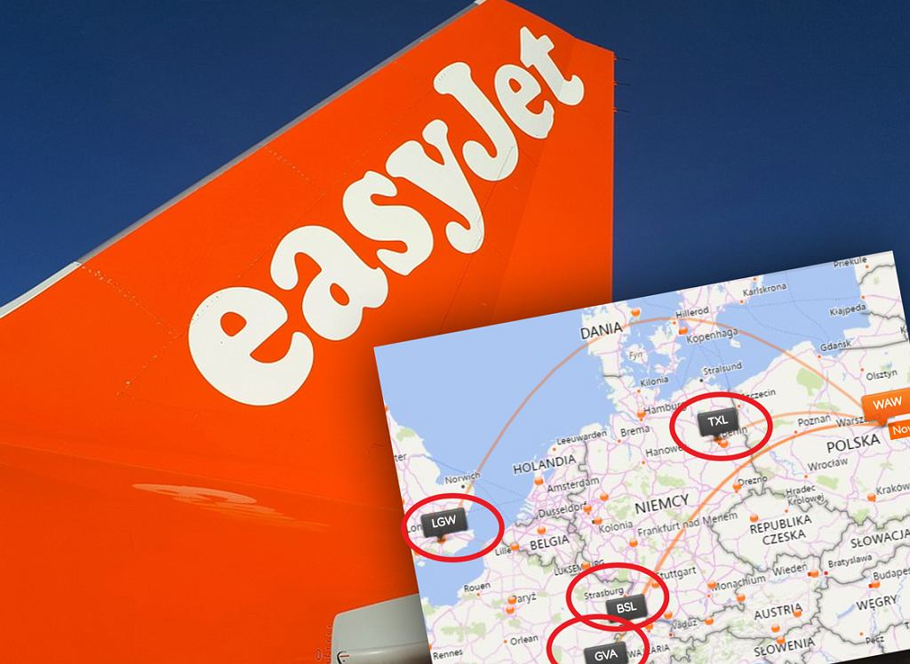 EasyJet wraca na lotnisko Chopina